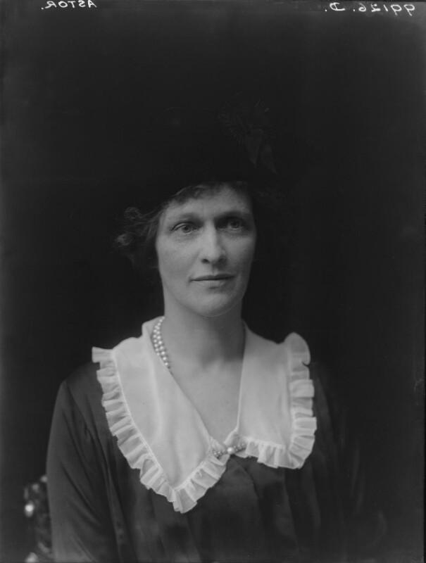 Nancy Astor, Viscountess Astor, by Walter Stoneman, 1921 - NPG x67796 - © National Portrait Gallery, London