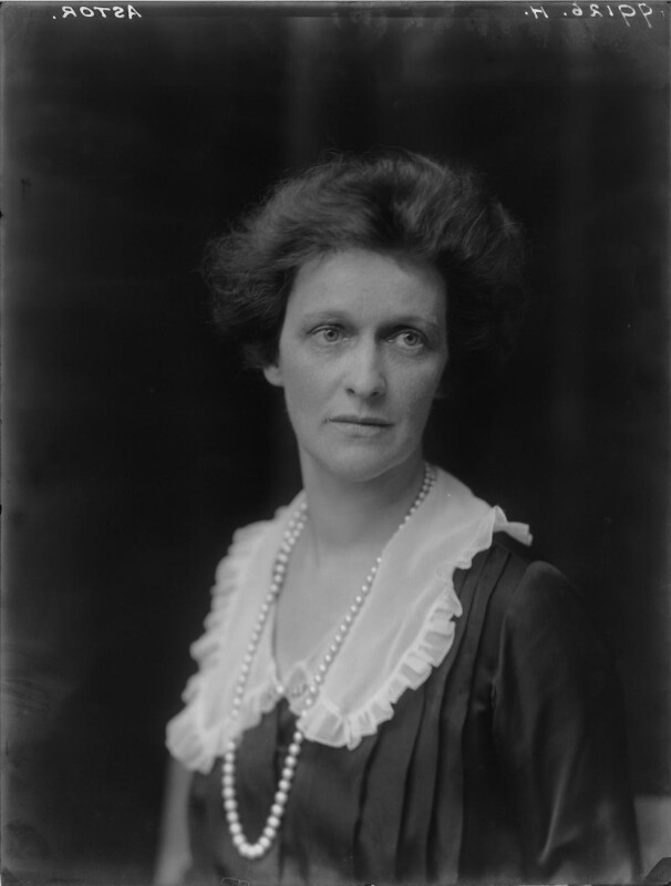 Nancy Astor, Viscountess Astor, by Walter Stoneman, 1921 - NPG x67797 - © National Portrait Gallery, London