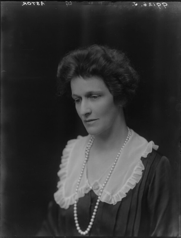 Nancy Astor, Viscountess Astor, by Walter Stoneman, 1921 - NPG x67798 - © National Portrait Gallery, London