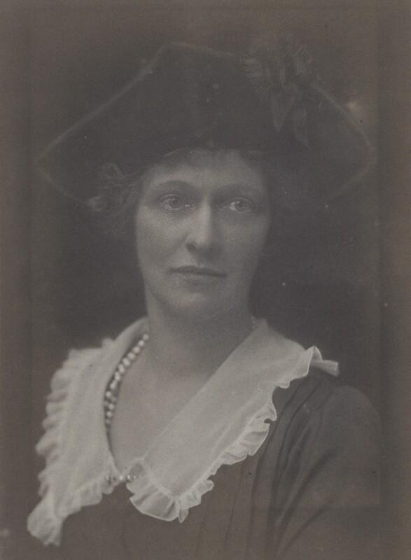 Nancy Astor, Viscountess Astor, by Walter Stoneman, 1921 - NPG x67800 - © National Portrait Gallery, London