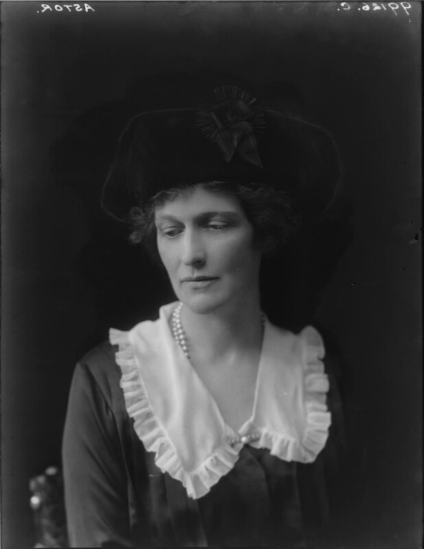 Nancy Astor, Viscountess Astor, by Walter Stoneman, 1921 - NPG x67801 - © National Portrait Gallery, London
