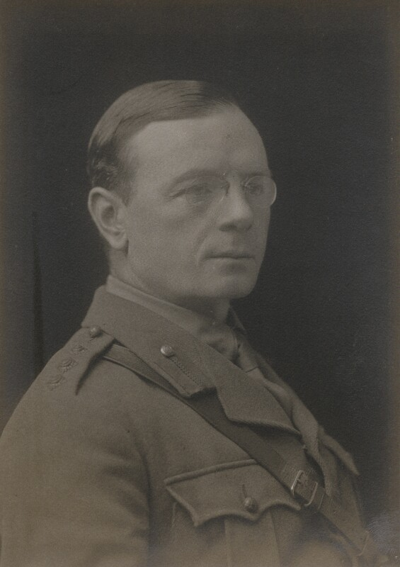 Leopold Stennett Amery, by Walter Stoneman, 1917 - NPG x67948 - © National Portrait Gallery, London