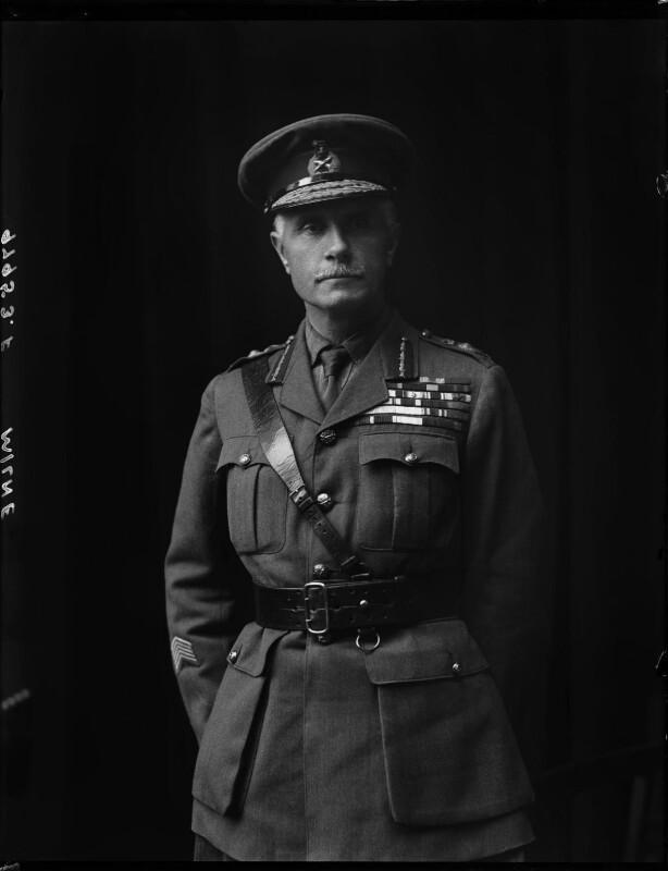 George Francis Milne, 1st Baron Milne, by Walter Stoneman, 1920 - NPG x74880 - © National Portrait Gallery, London