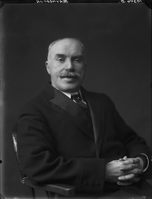 Edwin Scrymgeour, by Walter Stoneman, 1922 - NPG x166683 - © National Portrait Gallery, London