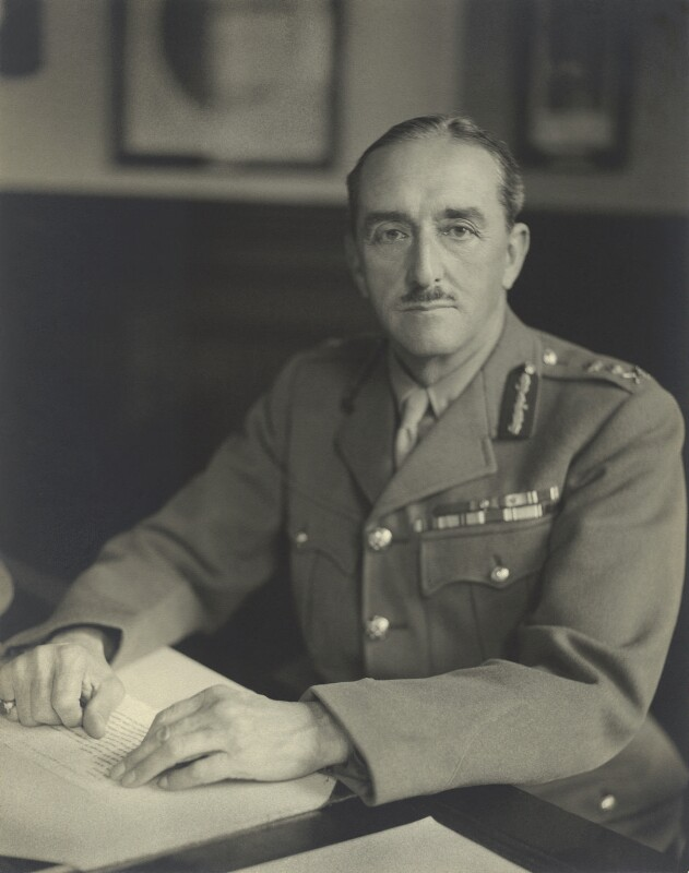 Alan Francis Brooke, 1st Viscount Alanbrooke, by Walter Stoneman, October 1942 - NPG x76876 - © National Portrait Gallery, London