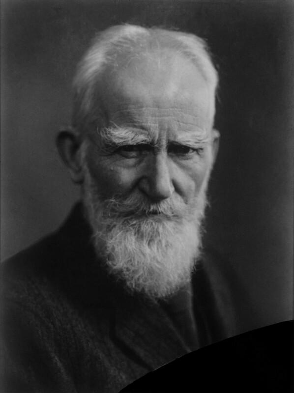George Bernard Shaw, by William Flower, for  Elliott & Fry, 1937 - NPG x81841 - © National Portrait Gallery, London