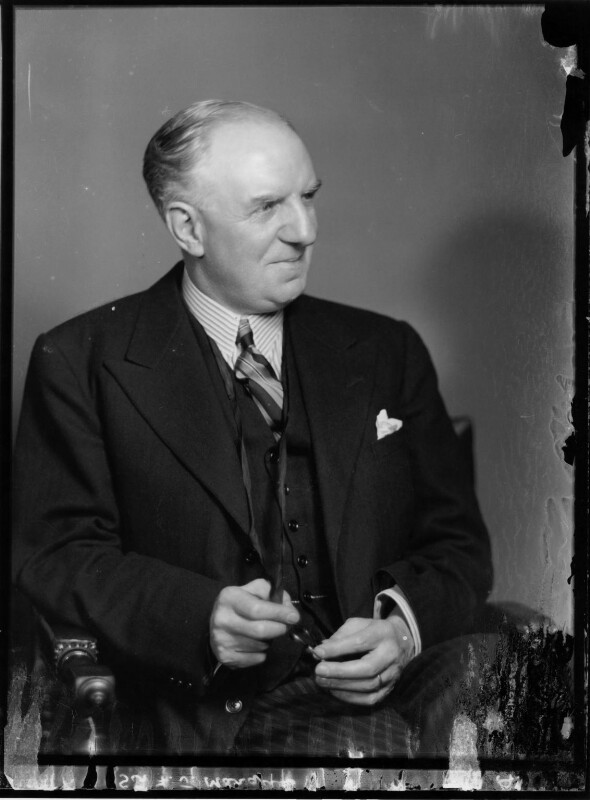 Frederick James Marquis, 1st Earl of Woolton, by Elliott & Fry, 10 February 1937 - NPG x81915 - © National Portrait Gallery, London