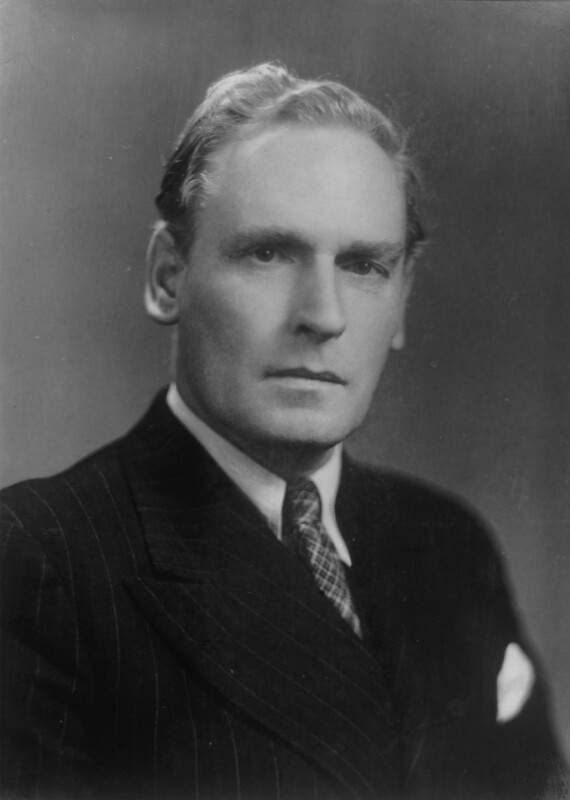 Cyril Asquith, Baron Asquith of Bishopstone, by Elliott & Fry, 1942 (1937) - NPG x81990 - © National Portrait Gallery, London