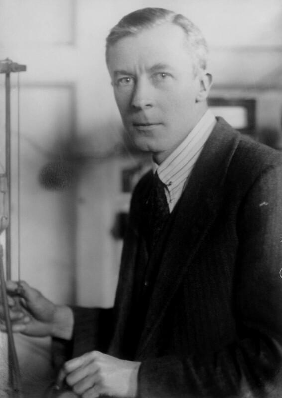 Edgar Douglas Adrian, 1st Baron Adrian, by Elliott & Fry, mid 1930s - NPG x81991 - © National Portrait Gallery, London