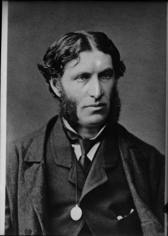 Matthew Arnold, by Elliott & Fry, 1870s - NPG x82001 - © National Portrait Gallery, London