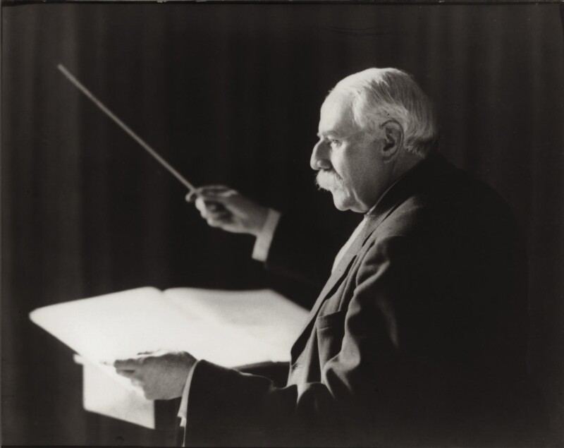 Sir Edward Elgar, Bt, by Herbert Lambert, for  Elliott & Fry, 1942 - NPG x82023 - © National Portrait Gallery, London