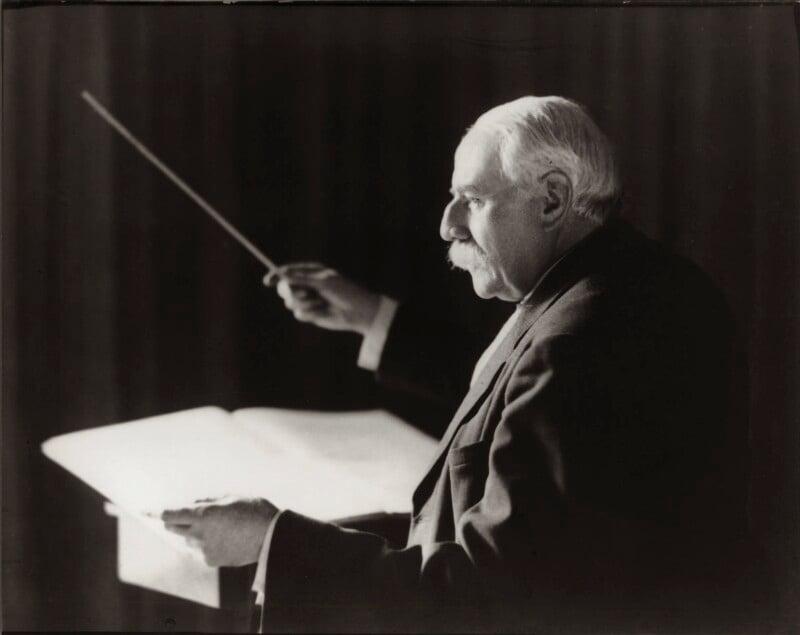 Sir Edward Elgar, Bt, by Herbert Lambert, for  Elliott & Fry, 1942 - NPG x82023 - © National Portrait Gallery, London