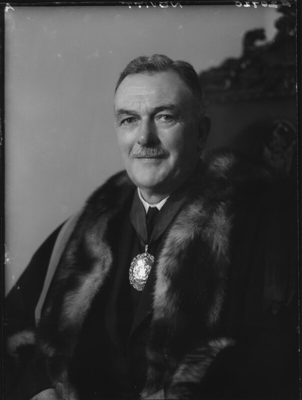 John Basil Nevitt, by Elliott & Fry, January 1959 - NPG x82489 - © National Portrait Gallery, London