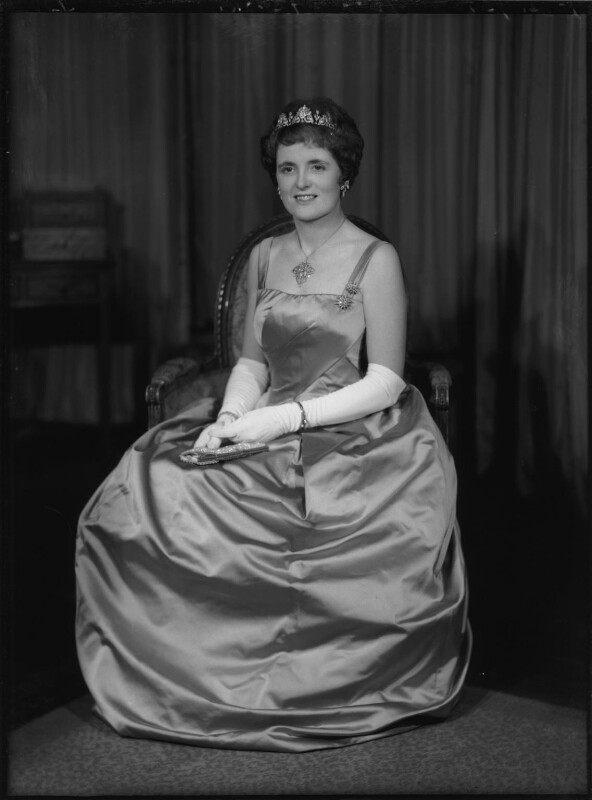 Rachel Cecilia (née Bingham), Lady Alport, by Elliott & Fry, 1960 - NPG x82556 - © National Portrait Gallery, London