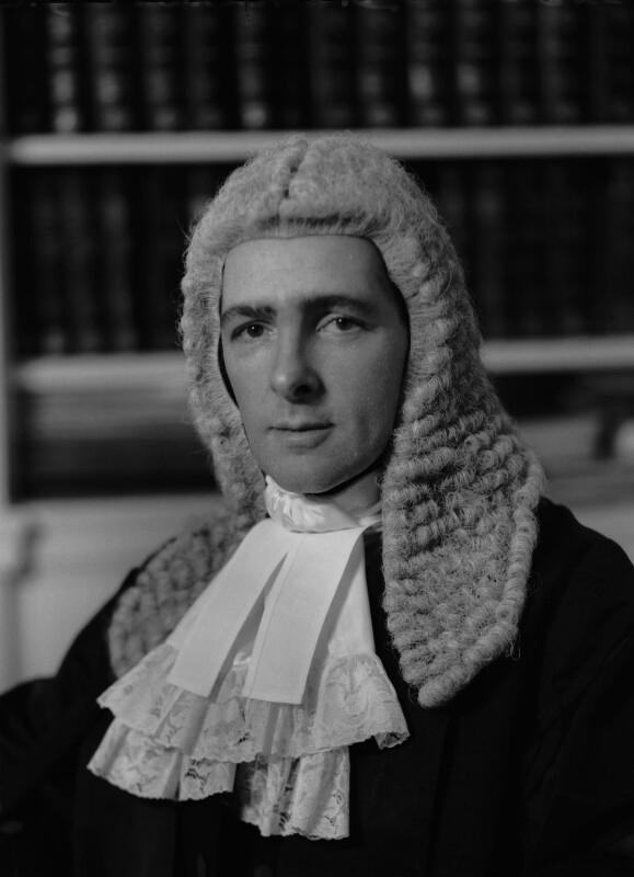 Desmond James Conrad Ackner, Baron Ackner, by Elliott & Fry, 1961 - NPG x82572 - © National Portrait Gallery, London
