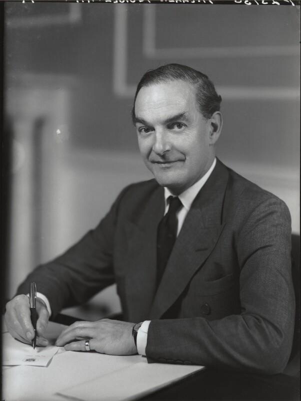 Michael Anthony Cristobal Noble, Baron Glenkinglas, by Elliott & Fry, 26 September 1962 - NPG x82631 - © National Portrait Gallery, London