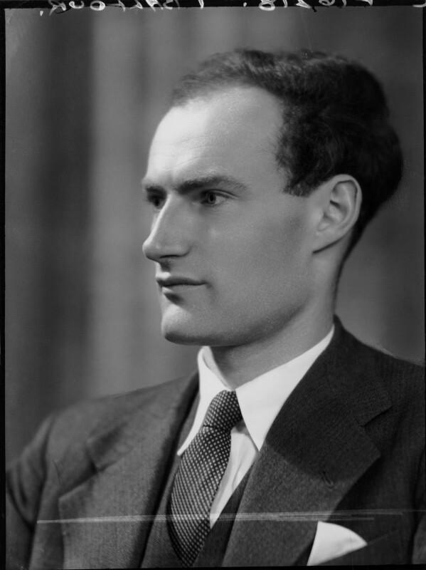 Ian Balfour, 2nd Baron Balfour of Inchrye, by Elliott & Fry, 1953 - NPG x82681 - © National Portrait Gallery, London