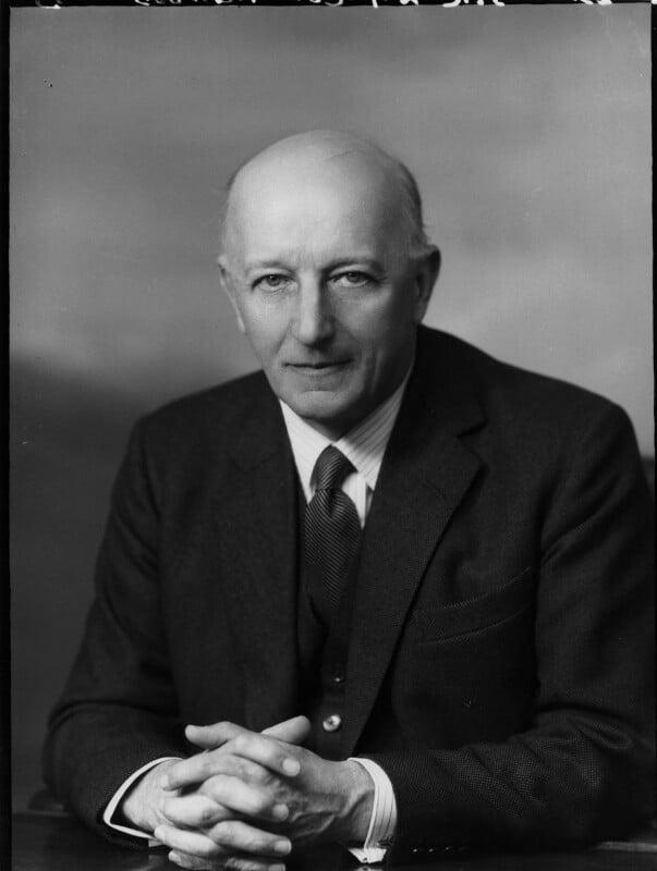 Sir Edward (Foyle) Collingwood, by Elliott & Fry, 1962 - NPG x82736 - © National Portrait Gallery, London