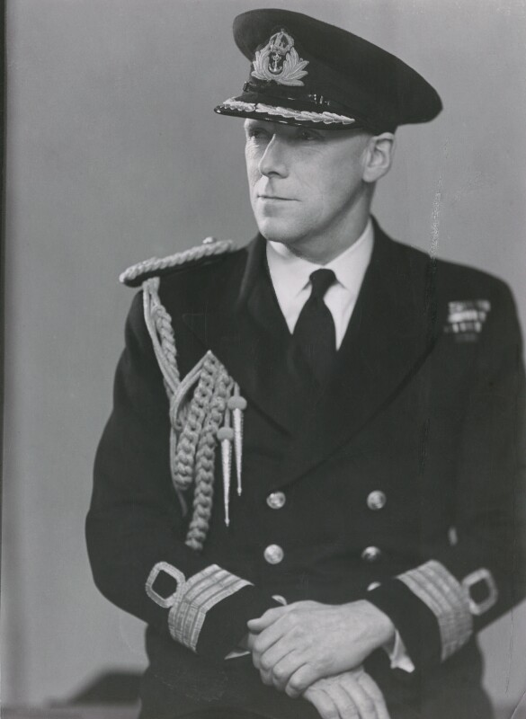 George Francis Abercrombie, by Elliott & Fry, 1951 - NPG x86106 - © National Portrait Gallery, London
