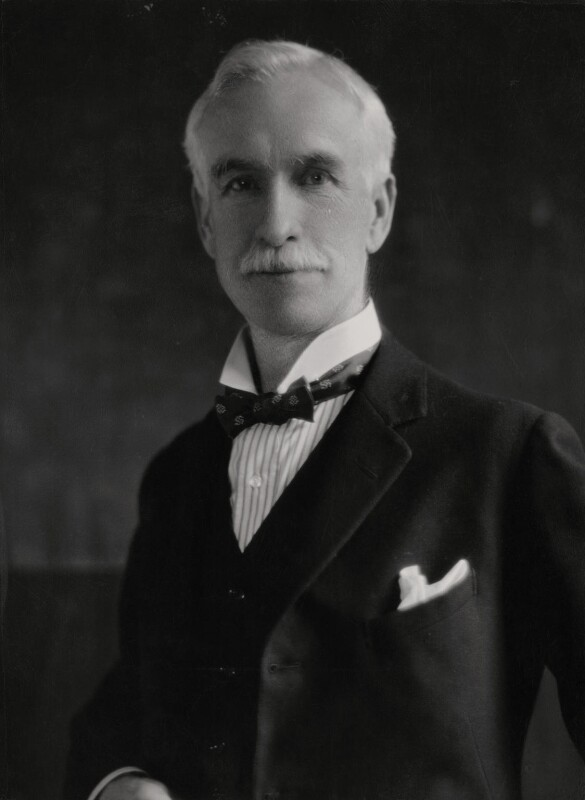 Sir Charles Stewart Addis, by Elliott & Fry,  - NPG x86115 - © National Portrait Gallery, London
