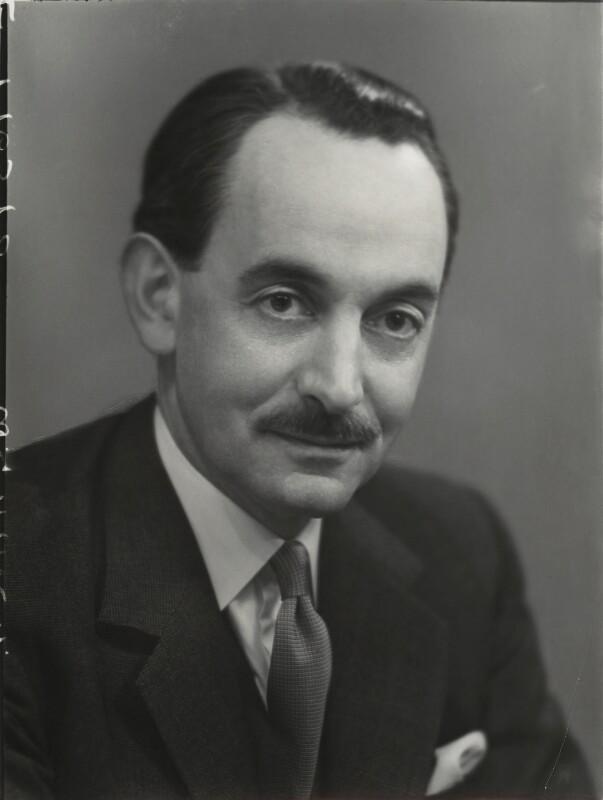 Sir (William) Godfrey Agnew, by Elliott & Fry, 1953 - NPG x86124 - © National Portrait Gallery, London