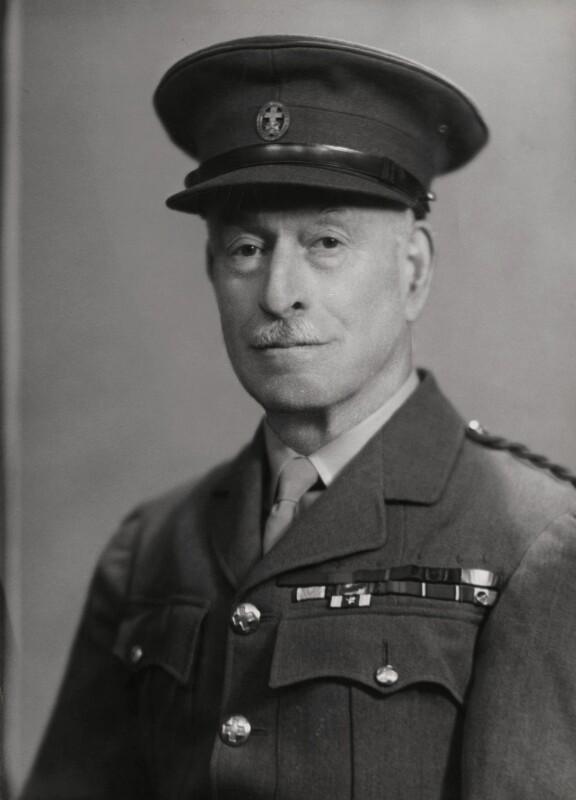 Sir Ralph Bignell Ainsworth, by Elliott & Fry, 1930s - NPG x86125 - © National Portrait Gallery, London