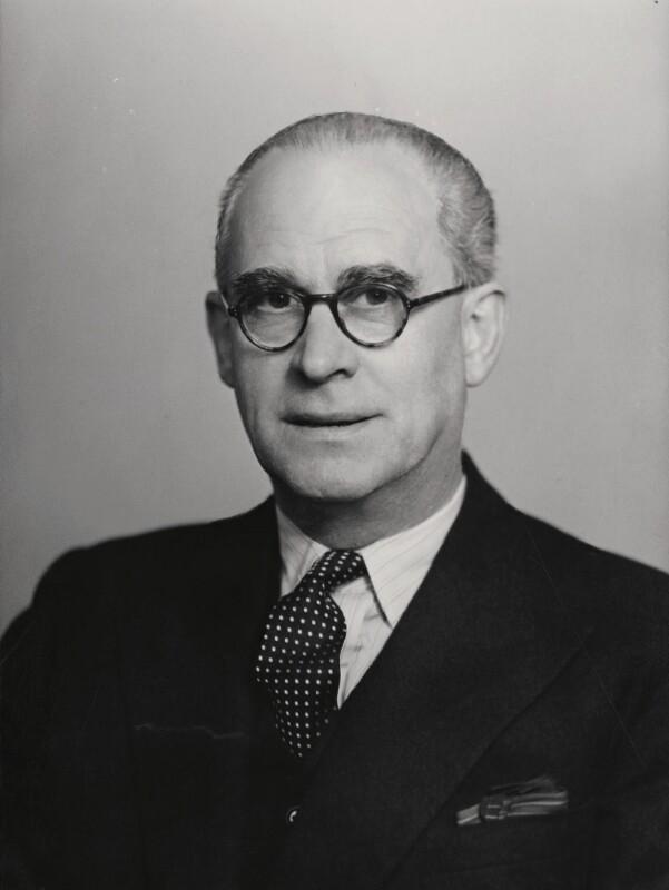 Sir Alexander Aikman, by Elliott & Fry, 1949 - NPG x86130 - © National Portrait Gallery, London