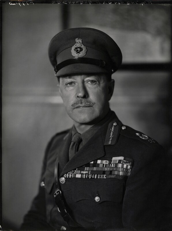 Harold Rupert Leofric George Alexander, 1st Earl Alexander of Tunis, by Elliott & Fry, 1942 - NPG x86137 - © National Portrait Gallery, London