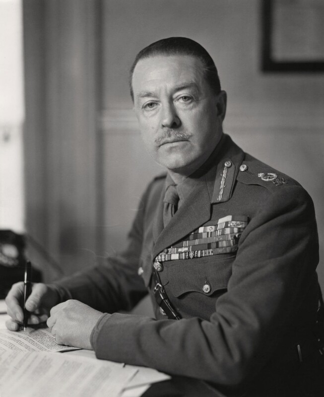 Harold Rupert Leofric George Alexander, 1st Earl Alexander of Tunis, by Elliott & Fry, 1946 - NPG x86141 - © National Portrait Gallery, London