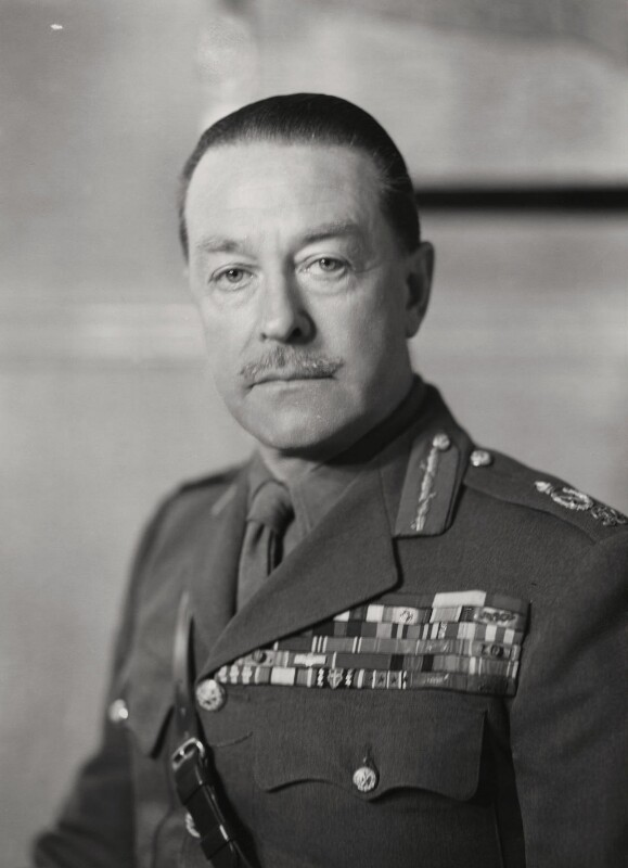 Harold Rupert Leofric George Alexander, 1st Earl Alexander of Tunis, by Elliott & Fry, 1946 - NPG x86142 - © National Portrait Gallery, London