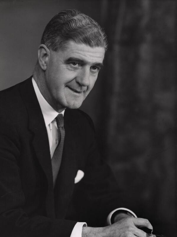 Sir William Alexander, by Elliott & Fry, 1961 - NPG x86144 - © National Portrait Gallery, London