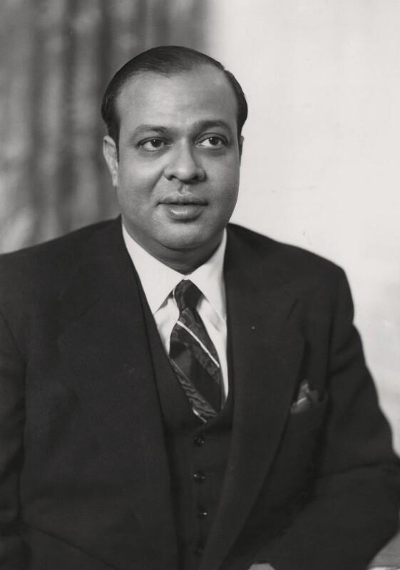 Mohammed Ali, by Elliott & Fry, 1955 - NPG x86146 - © National Portrait Gallery, London