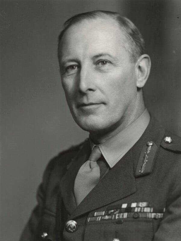 Sir Kenneth Arthur Noel Anderson, by Elliott & Fry, 25 March 1944 - NPG x86166 - © National Portrait Gallery, London
