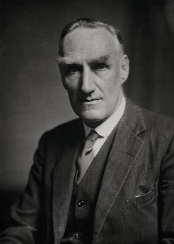 John Boyd Orr, Baron Boyd Orr, by Elliott & Fry,  - NPG x86445 - © National Portrait Gallery, London