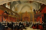 The Trial of Queen Caroline 1820, by Sir George Hayter, 1820-1823 - NPG  - © National Portrait Gallery, London