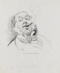 Sir William Agnew, 1st Bt, by Harry Furniss, 1880s - NPG  - © National Portrait Gallery, London