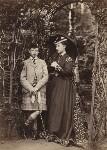 Prince Leopold, Duke of Albany; Princess Louise Caroline Alberta, Duchess of Argyll, by W. & D. Downey, 1868 - NPG  - © National Portrait Gallery, London