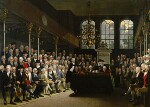 The House of Commons 1793-94, by Karl Anton Hickel, 1793-1795 - NPG  - © National Portrait Gallery, London