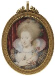 Anne of Denmark, by Isaac Oliver, circa 1612 - NPG  - © National Portrait Gallery, London