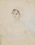 Jane Austen, by Cassandra Austen, circa 1810 - NPG  - © National Portrait Gallery, London