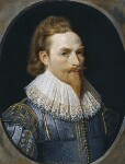 Sir Nathaniel Bacon, by Sir Nathaniel Bacon, circa 1625 - NPG  - © National Portrait Gallery, London
