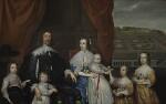 The Capel Family, by Cornelius Johnson, circa 1640 - NPG  - © National Portrait Gallery, London