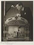 Binkie Beaumont; Angela Baddeley; Emlyn Williams, by Angus McBean, 1947 - NPG  - Angus McBean Photograph. © Harvard Theatre Collection, Harvard University.
