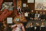 King Edward VI and the Pope, by Unknown artist, circa 1575 - NPG  - © National Portrait Gallery, London
