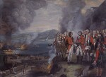 The Siege of Gibraltar, 1782, by George Carter, 1784 - NPG  - © National Portrait Gallery, London