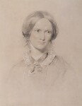 Charlotte Brontë, by George Richmond, 1850 - NPG  - © National Portrait Gallery, London