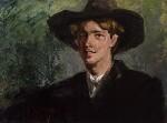 Rupert Brooke, by Clara Ewald, 1911 - NPG  - © National Portrait Gallery, London