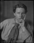 Rupert Brooke, by Sherrill Schell, April 1913 - NPG  - © reserved; collection National Portrait Gallery, London