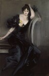 Gertrude Elizabeth (née Blood), Lady Colin Campbell, by Giovanni Boldini, 1894 - NPG  - © National Portrait Gallery, London