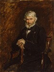Thomas Carlyle, by Sir John Everett Millais, 1st Bt, 1877 - NPG  - © National Portrait Gallery, London